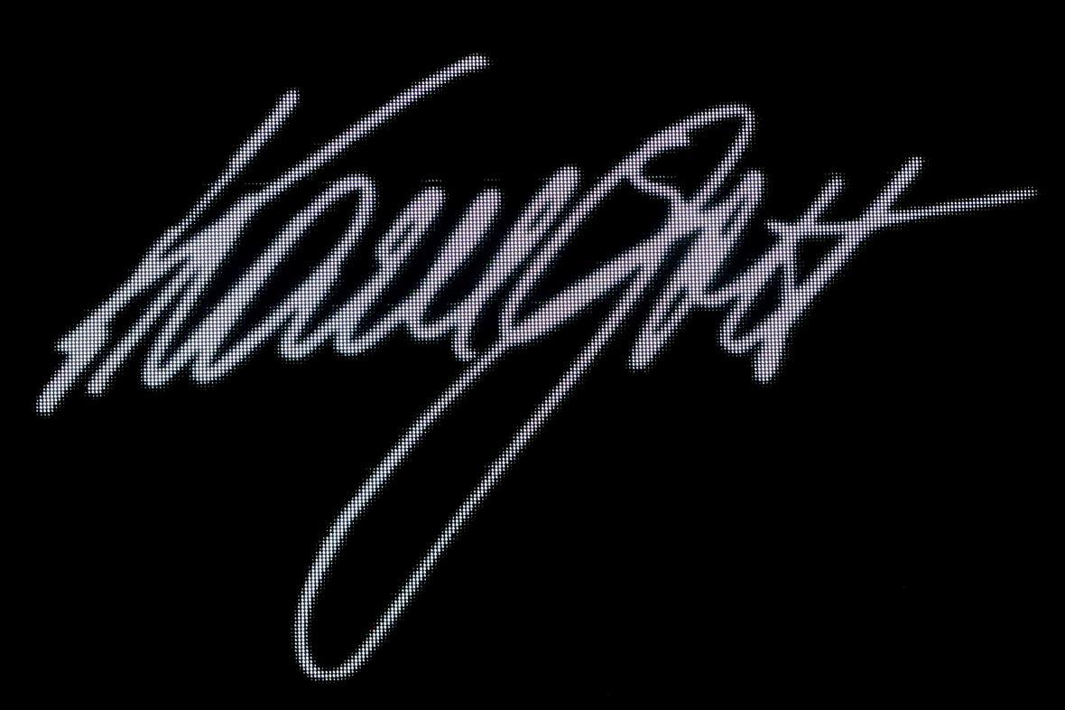 Podpis Karla Gotta