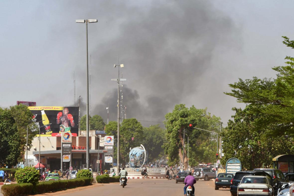 Útok v metropoli Burkiny Faso