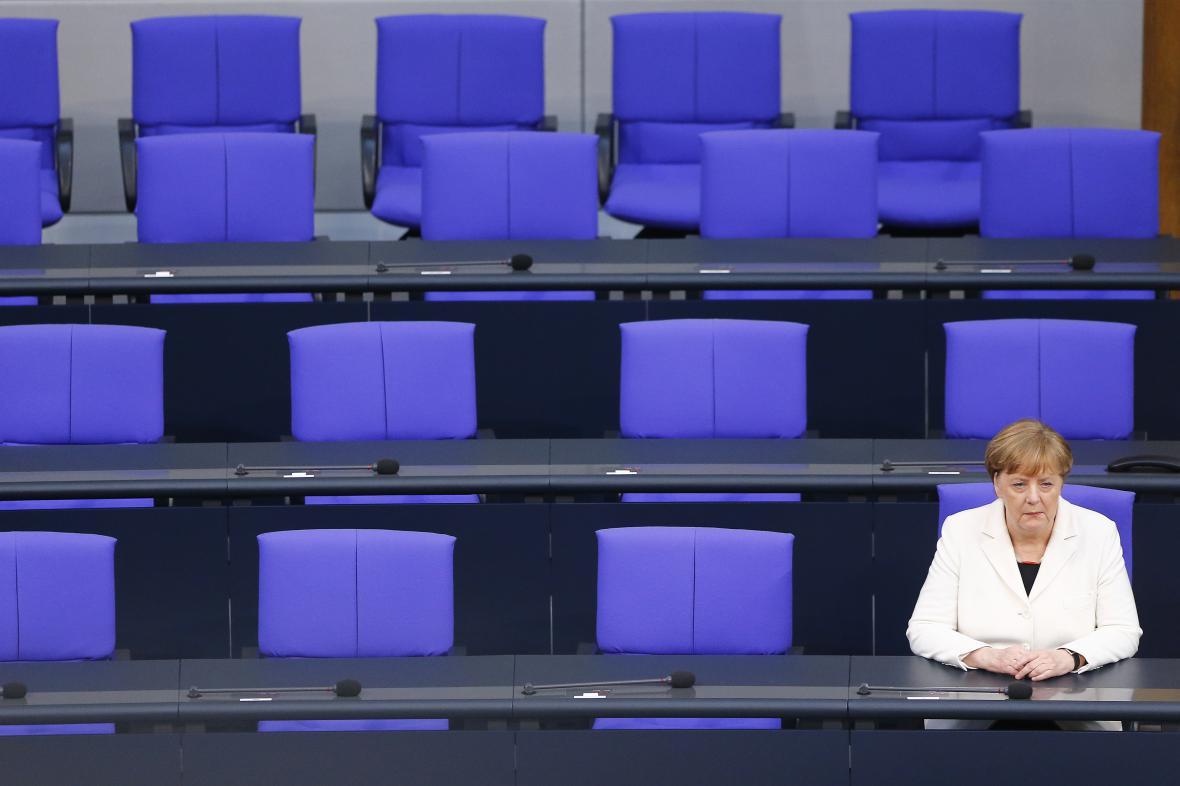 Angela Merkelová počtvrté kancléřkou