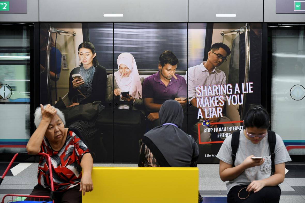 Malajsie zakročí proti lživým zprávám