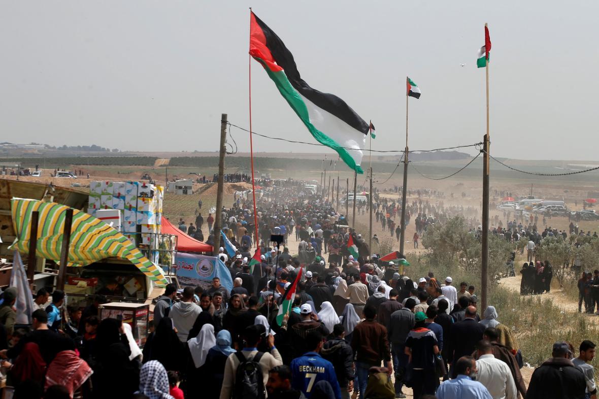Palestinské protesty