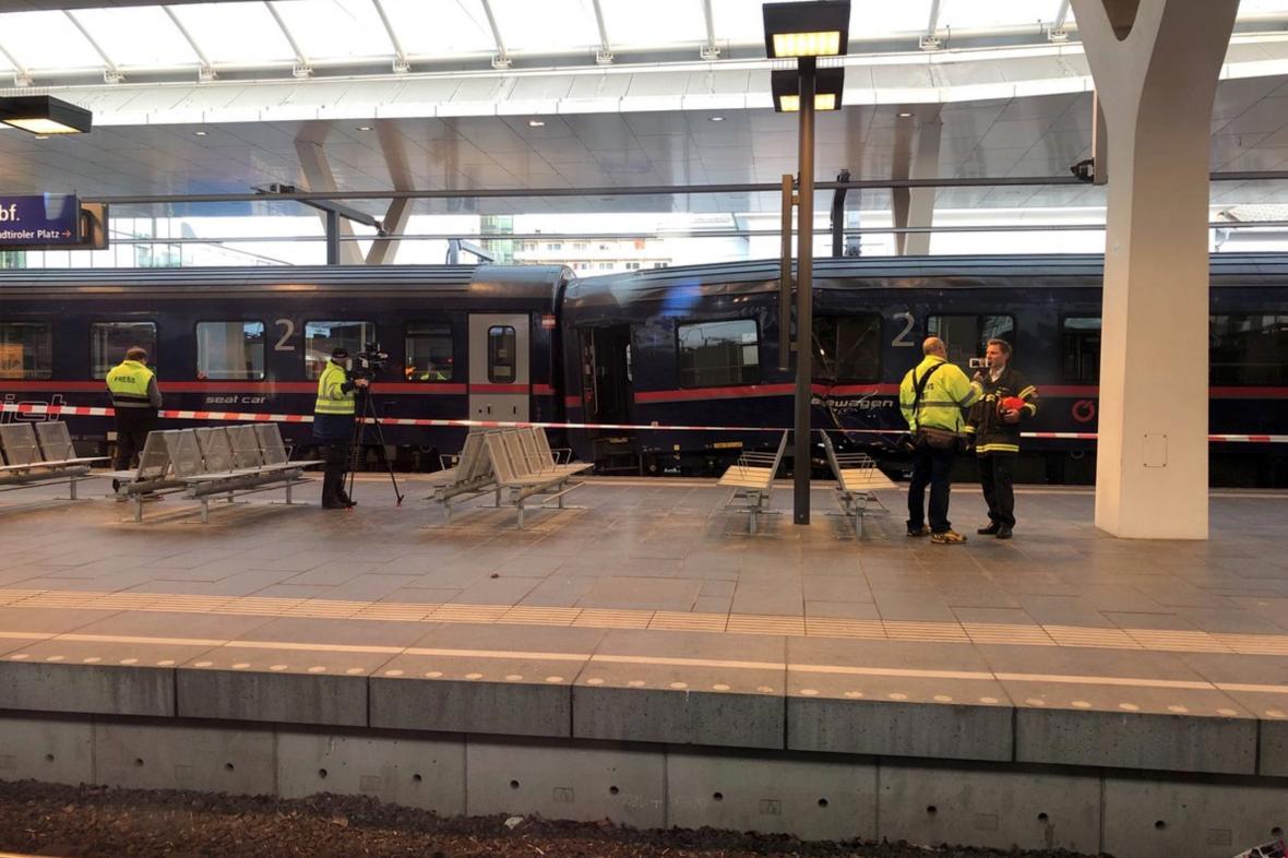 Nehoda vlaků v Salzburgu
