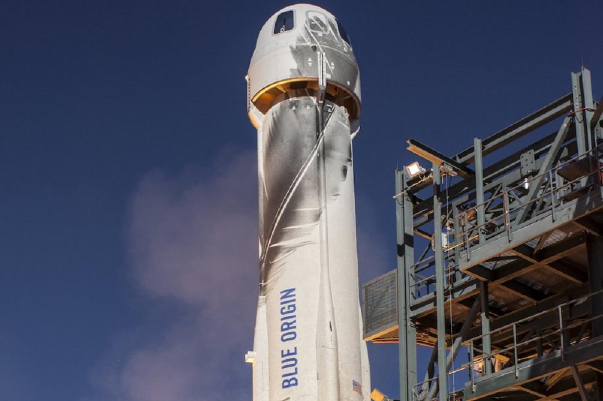 Raketa New Shepard