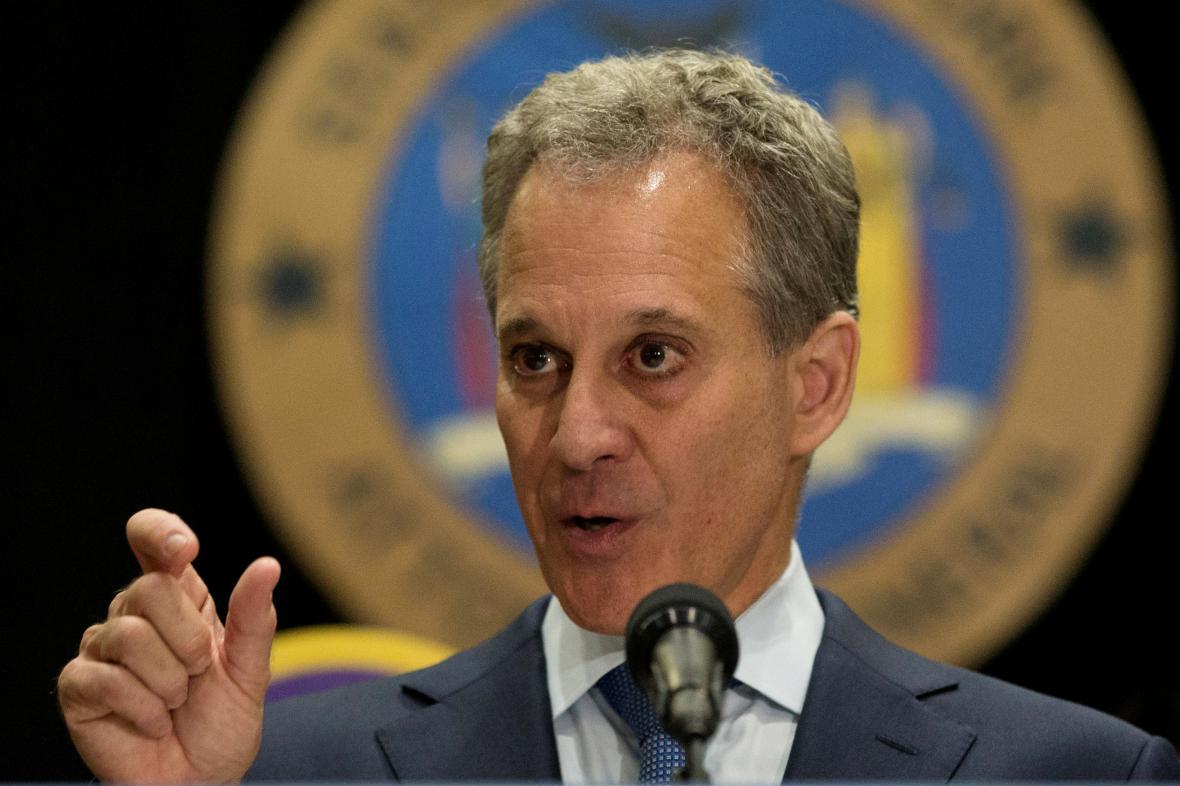 Newyorský prokurátor Eric Schneiderman