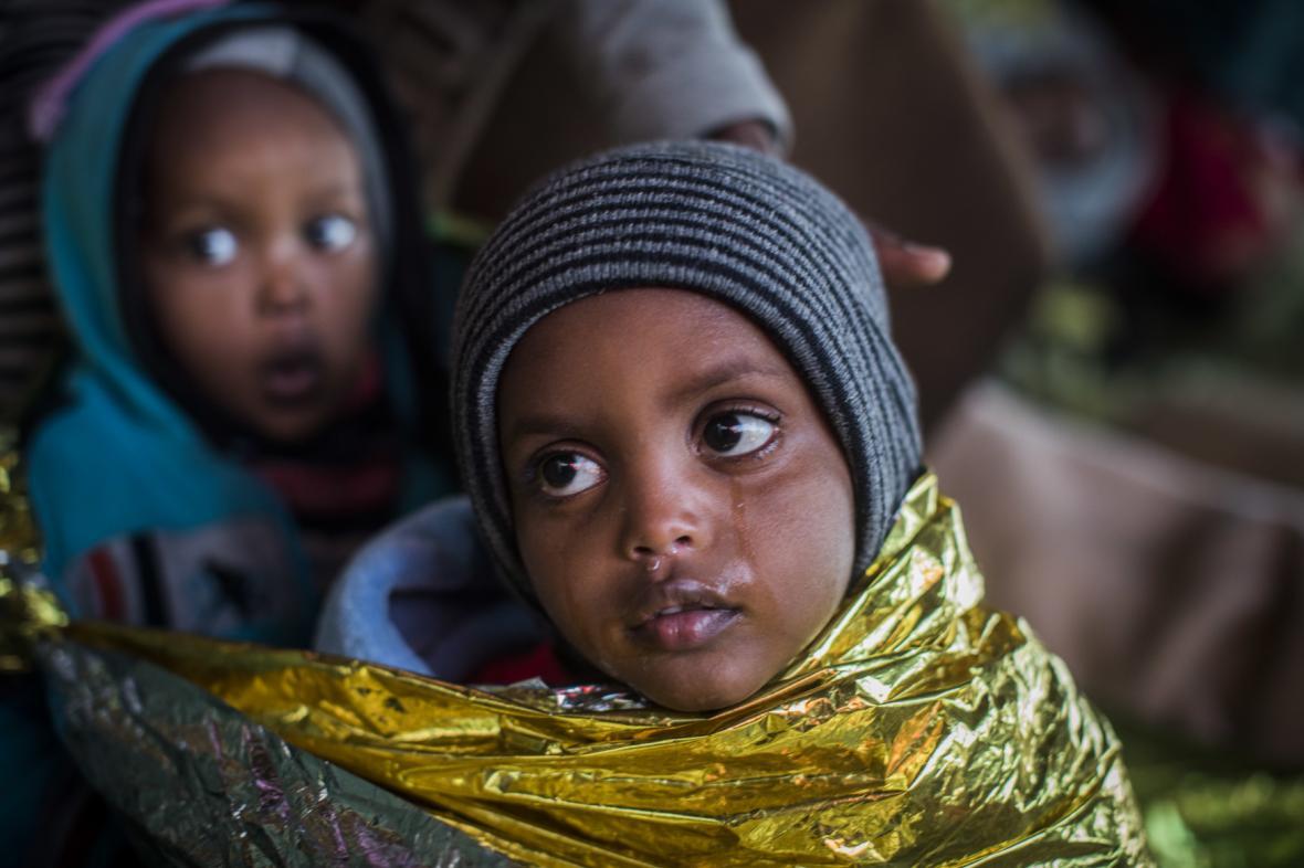 Děti eritrejských uprchlíků
