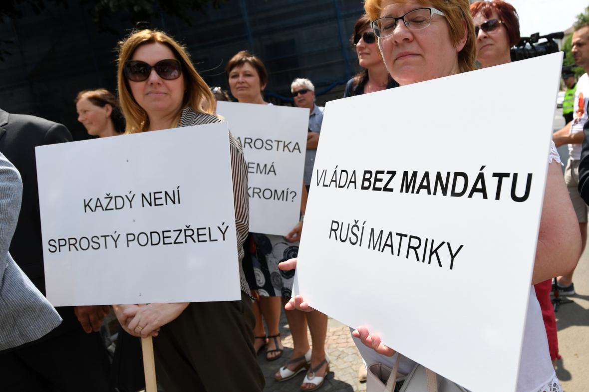 Protest starostů