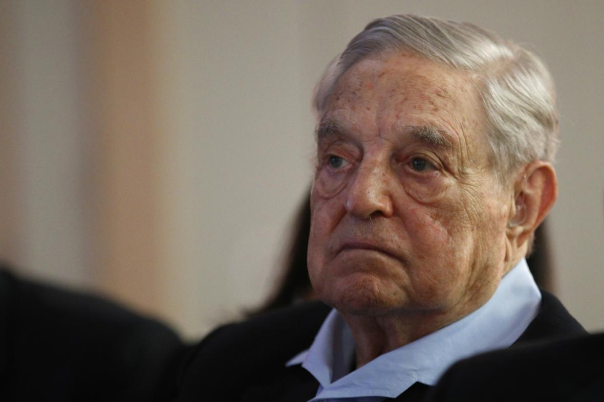 Miliardář George Soros