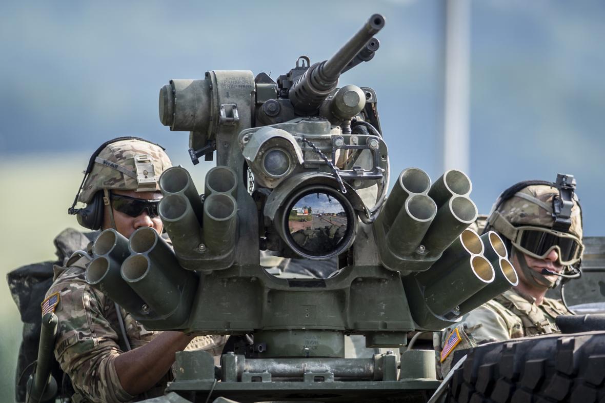 Američtí vojáci na území ČR