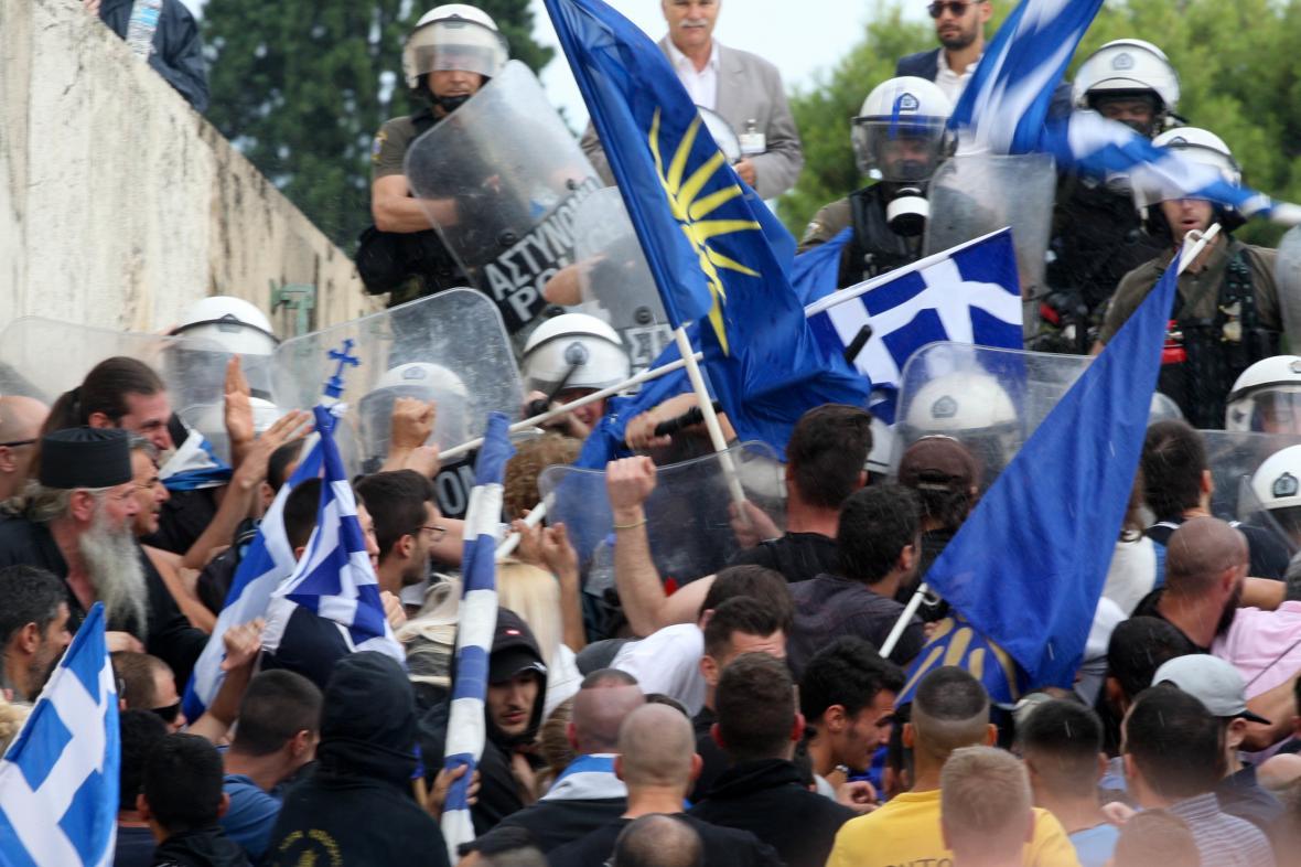 Spor kvůli Makedonii