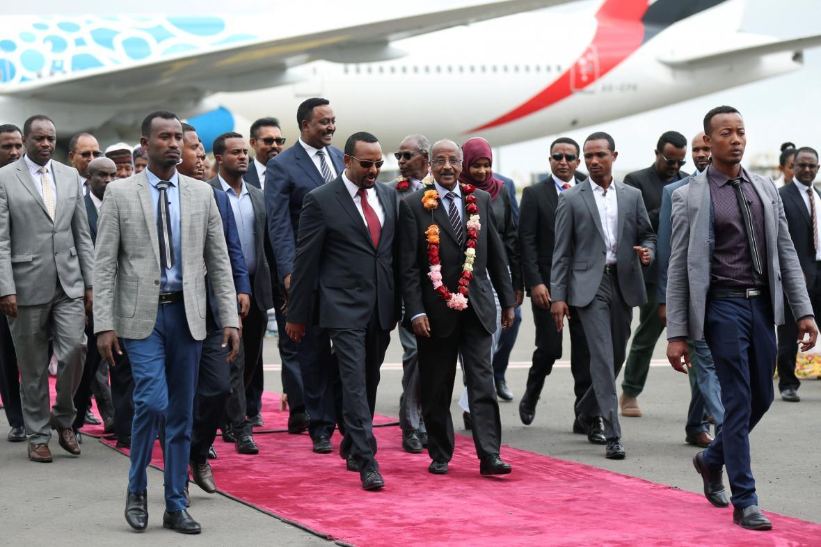 Eritrejská delegace