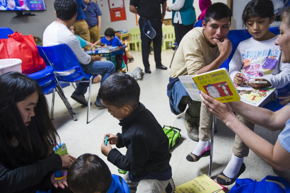 Děti migrantů ze Střední Ameriky