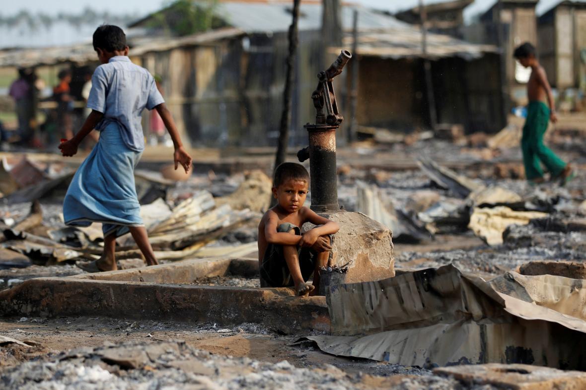 Rohingští běženci