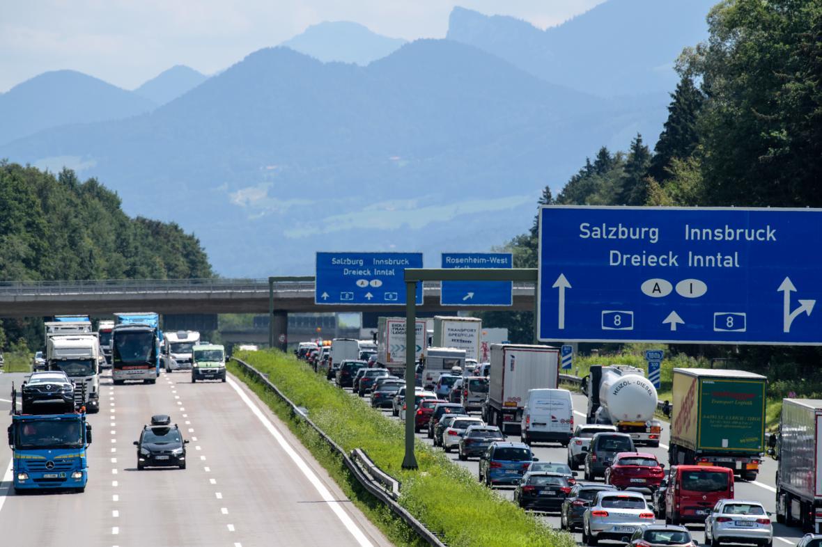 Provoz na rakouské dánici