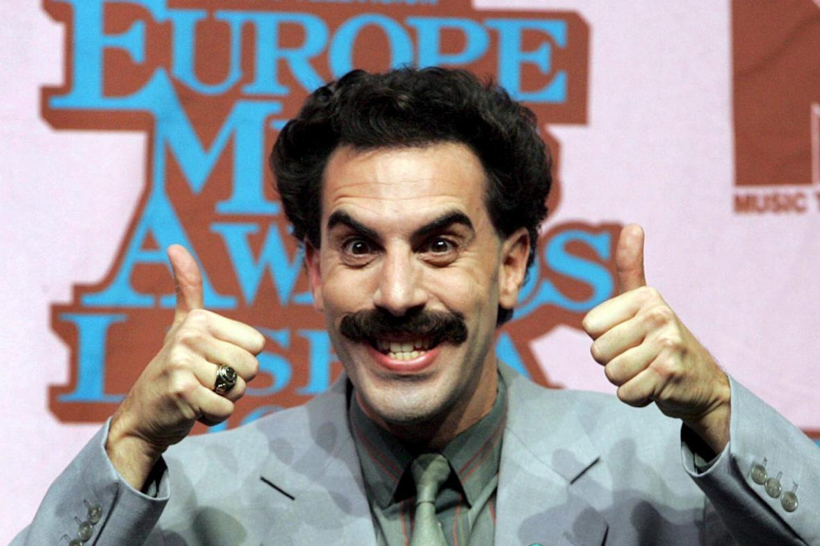 Sacha Baron Cohen jako Borat