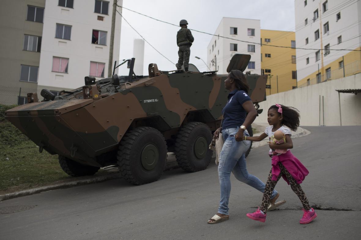 Armáda v Riu de Janeiru