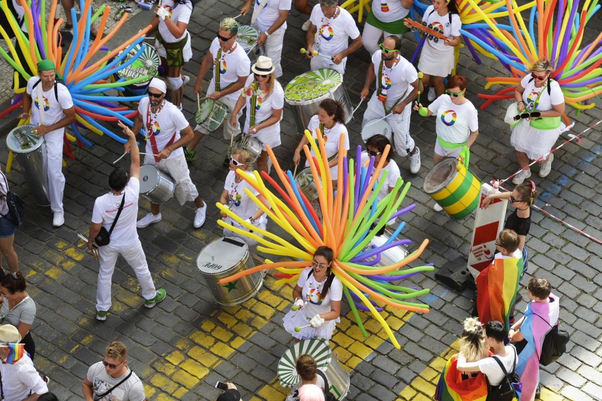 Průvod Prague Pride Parade