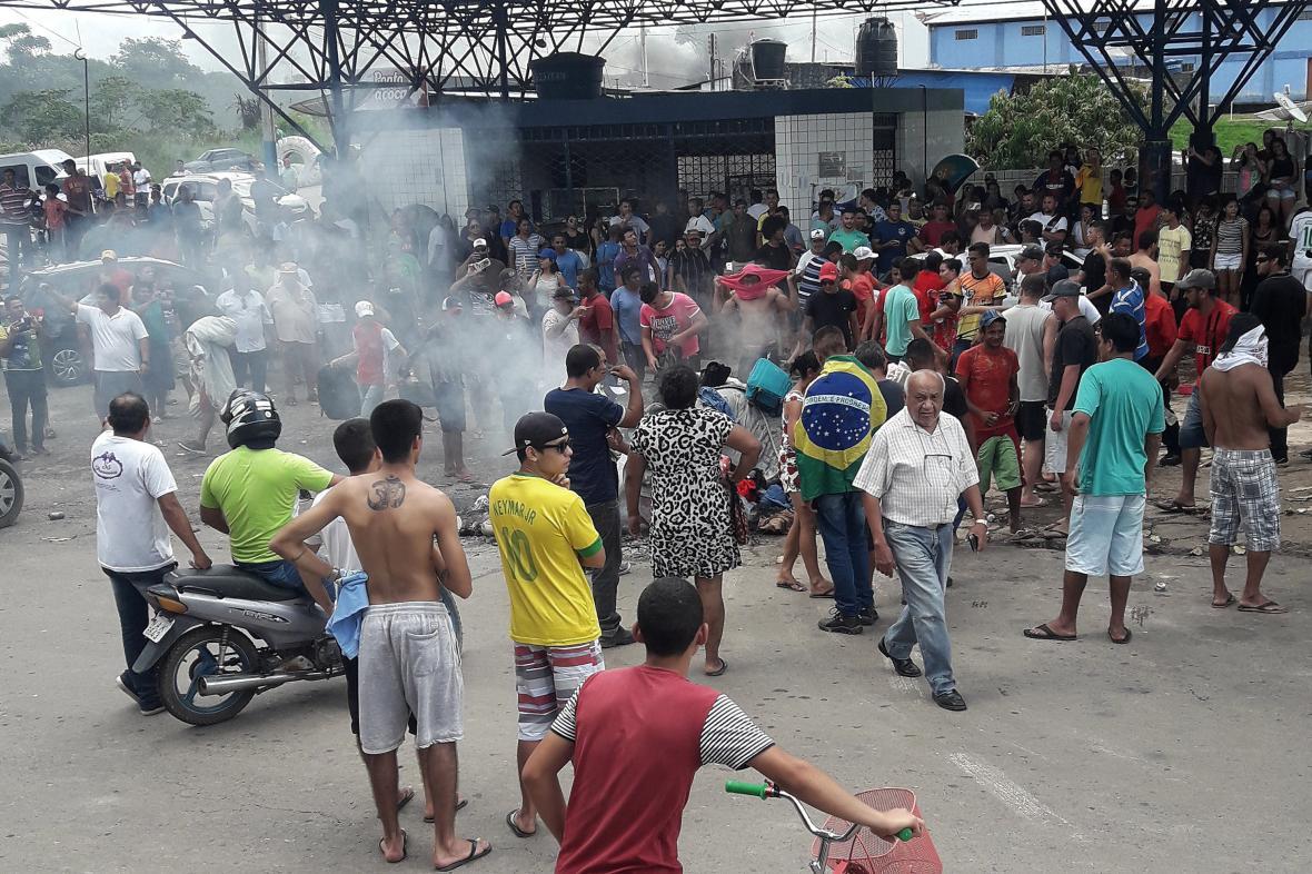 Vyostřená situace na brazilsko-venezuelské hranici