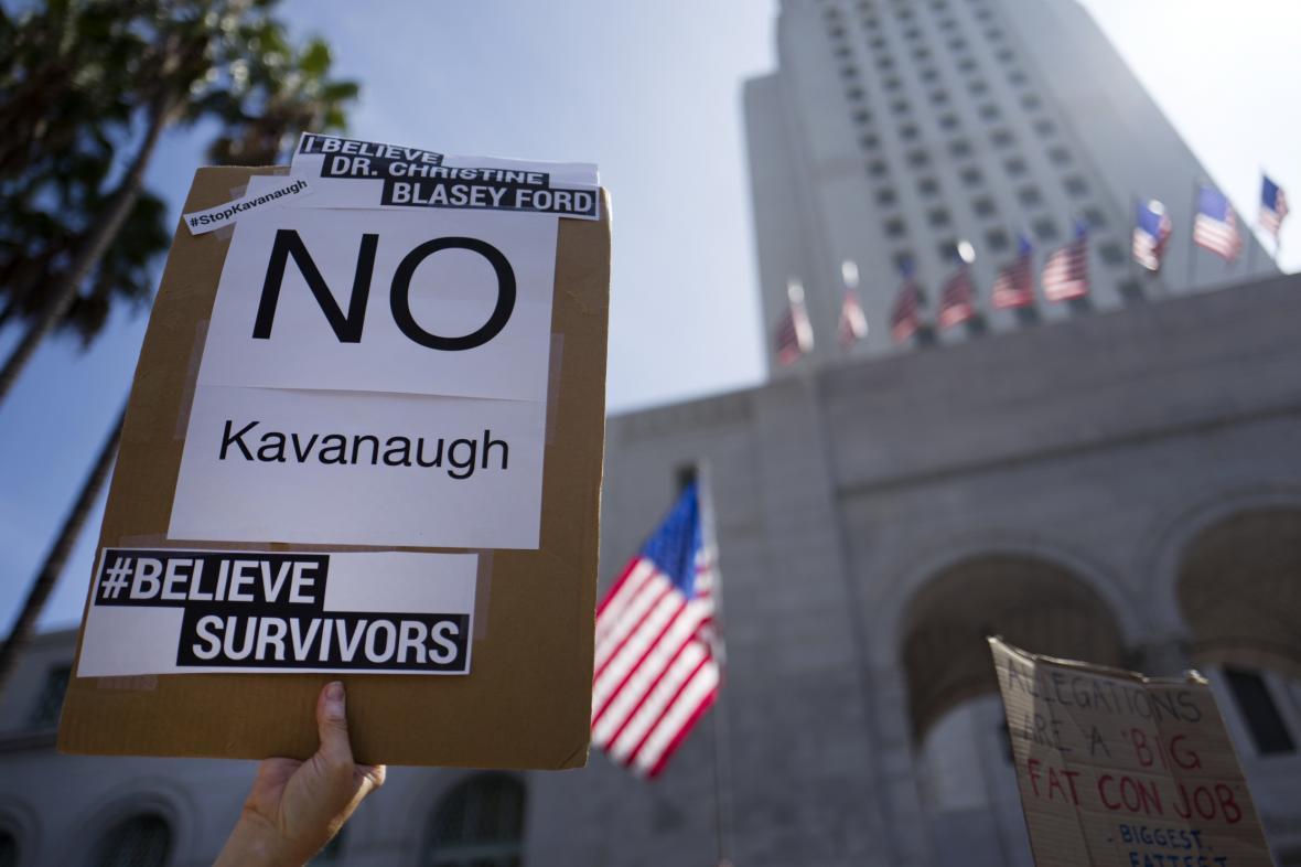 Protesty proti Kavanaughovi