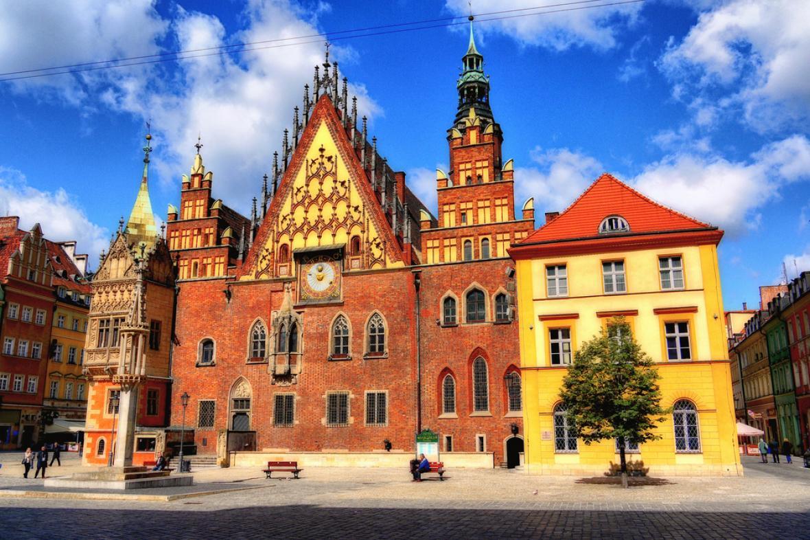 Radnice v polské Vratislavi