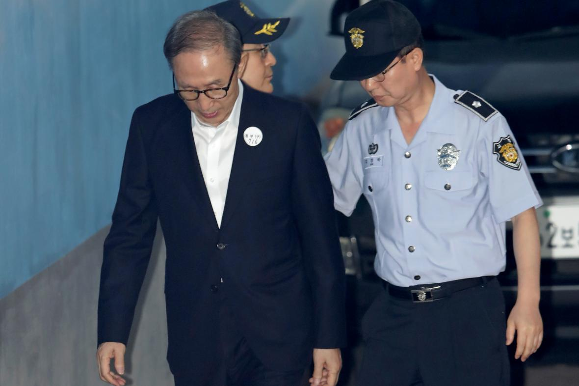 Jihokorejský prezident I Mjong-bak