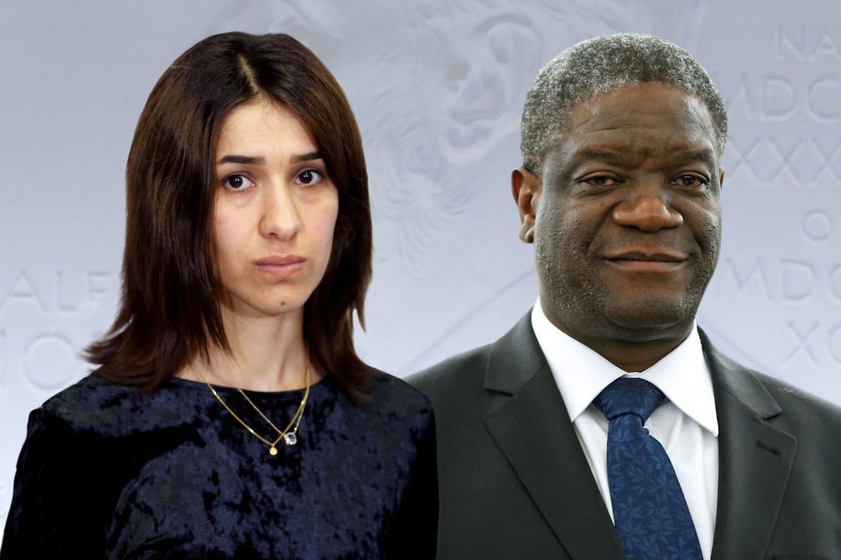 Nadja Murandová a Denis Mukwege