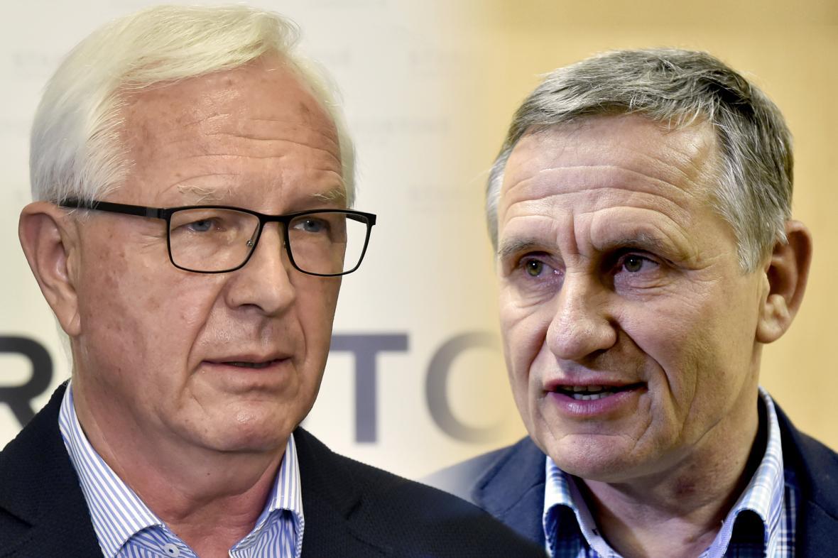 Jiří Drahoš a Jiří Čunek