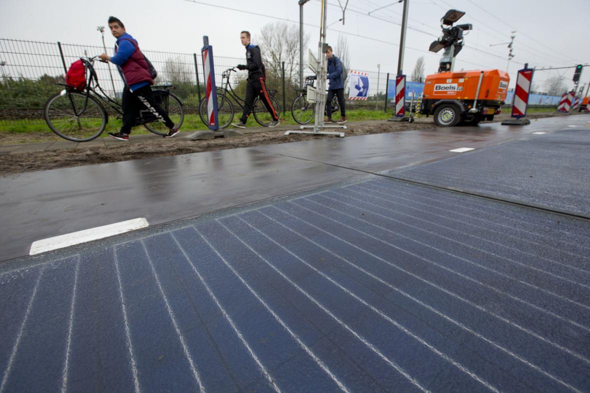 Solární cesta u Amsterdamu