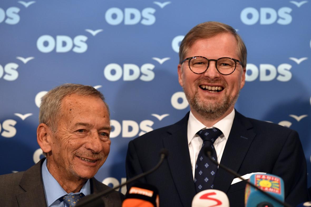 Jaroslav Kubera a Petr Fiala (oba ODS)
