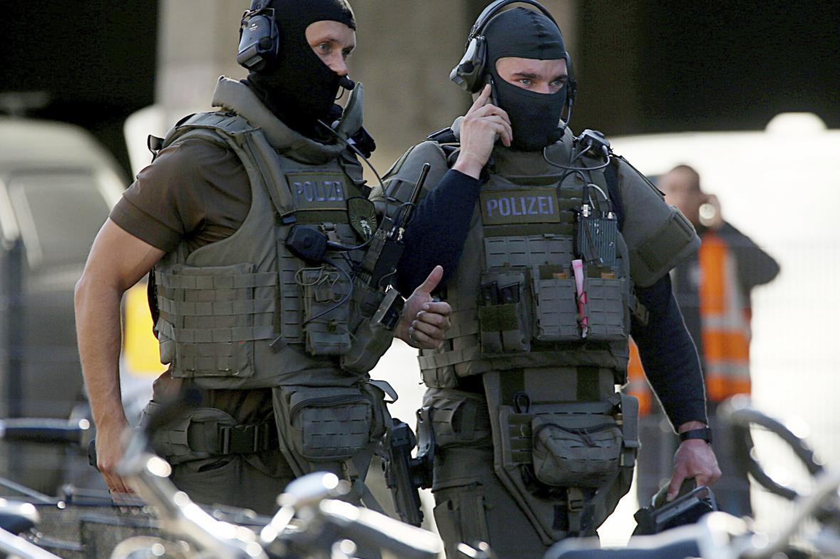 Zvláštní jednotky německé policie