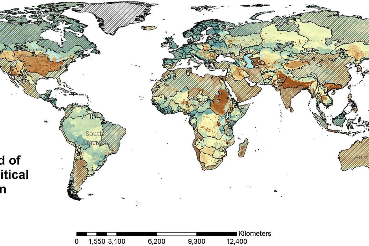 Mapa budoucích konfliktů o vodu
