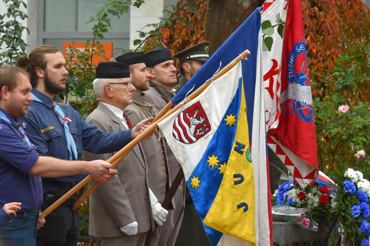 100. výročí založení Československa k Karlových Varech