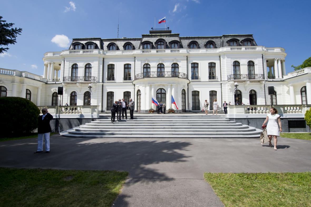 Velvyslanectví Ruské federace v Praze