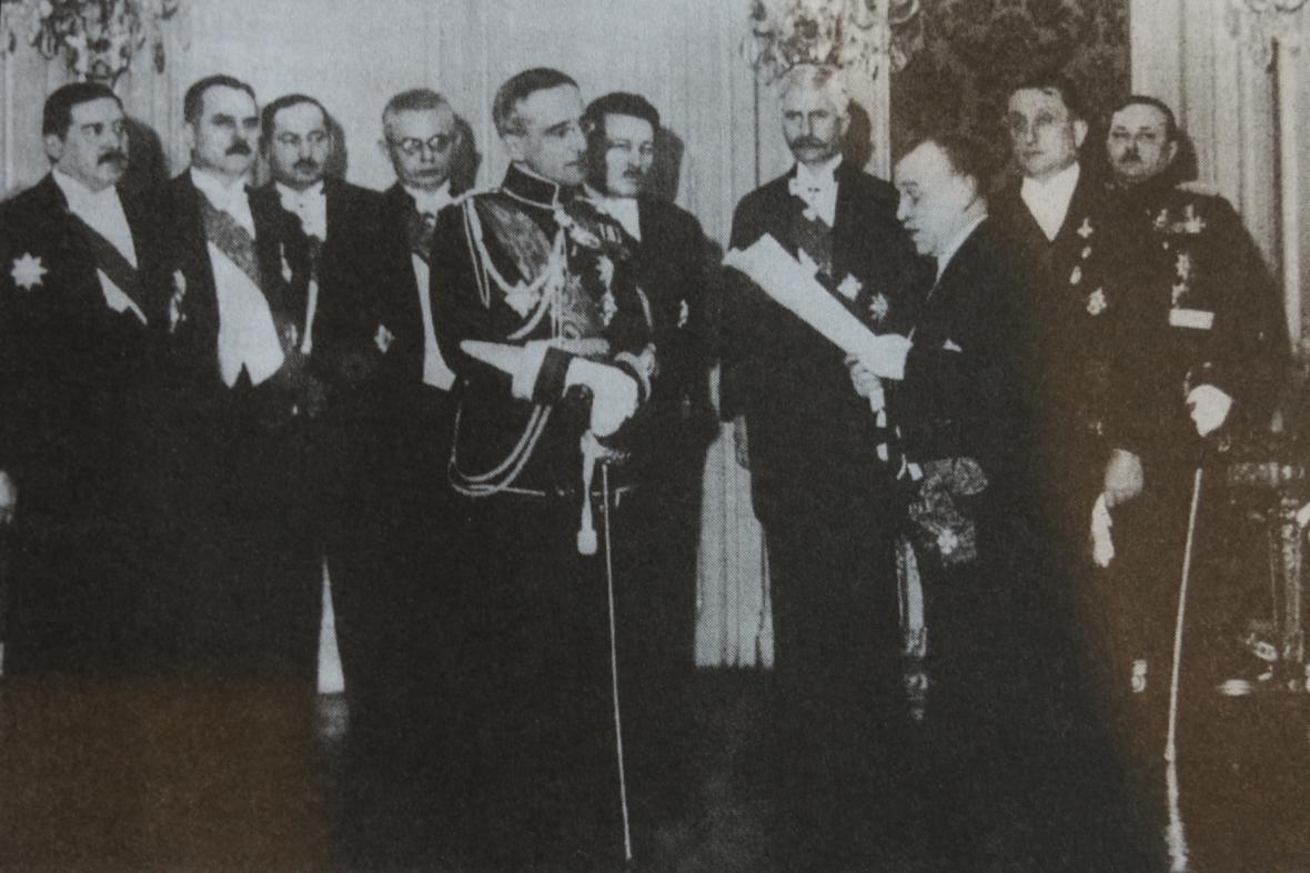 Vyhlášení Království Srbů, Chorvatů a Slovinců 1. prosince 1918