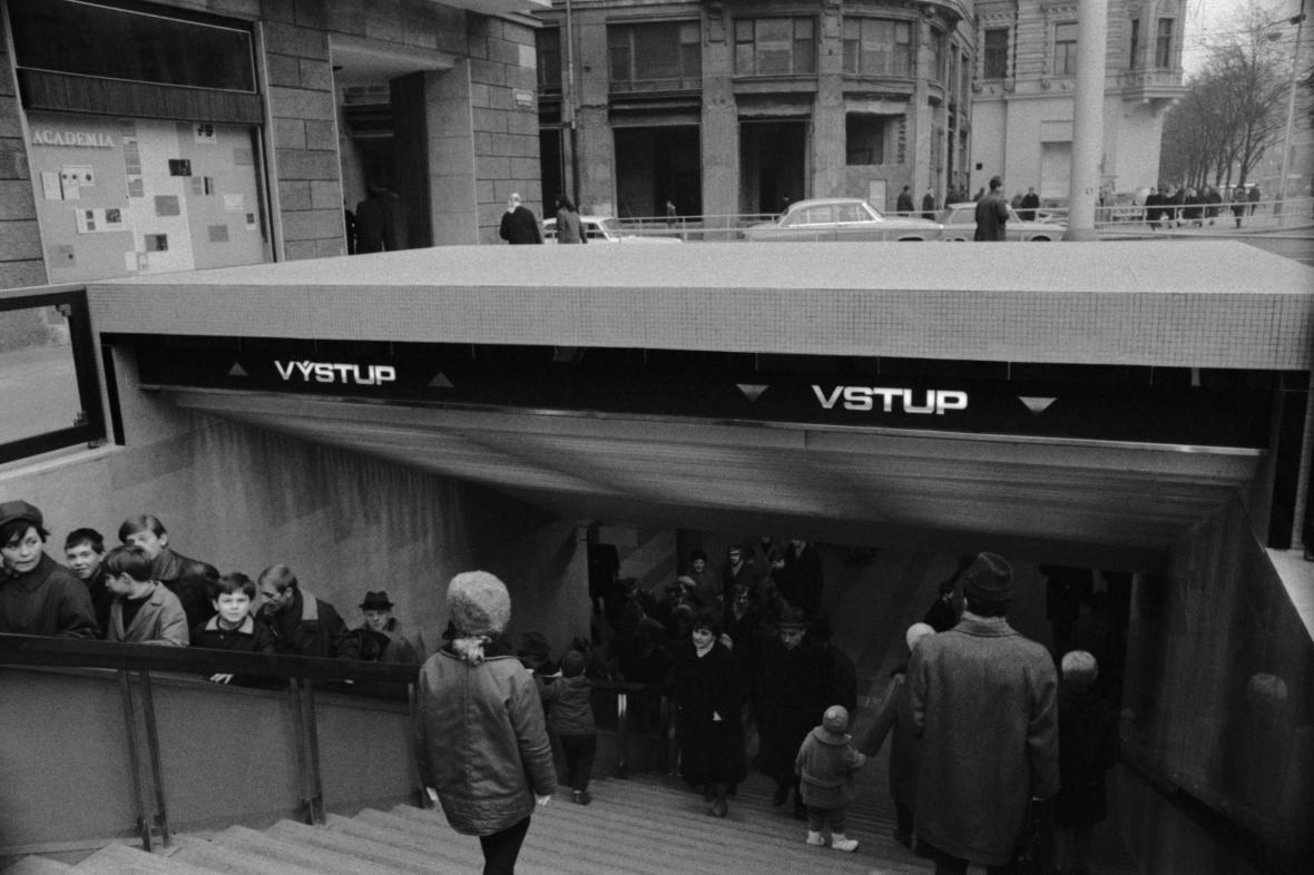 Podchod pod Václavským náměstím
