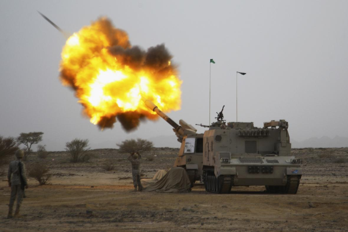 Saúdové pomáhají jemenské vládě v boji proti šíitským povstalcům
