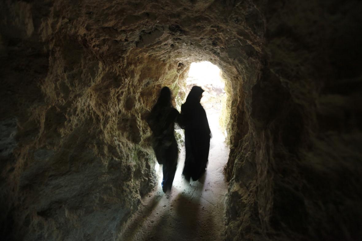 Tunel Hizballáhu vybudovaný během války s Izraelem