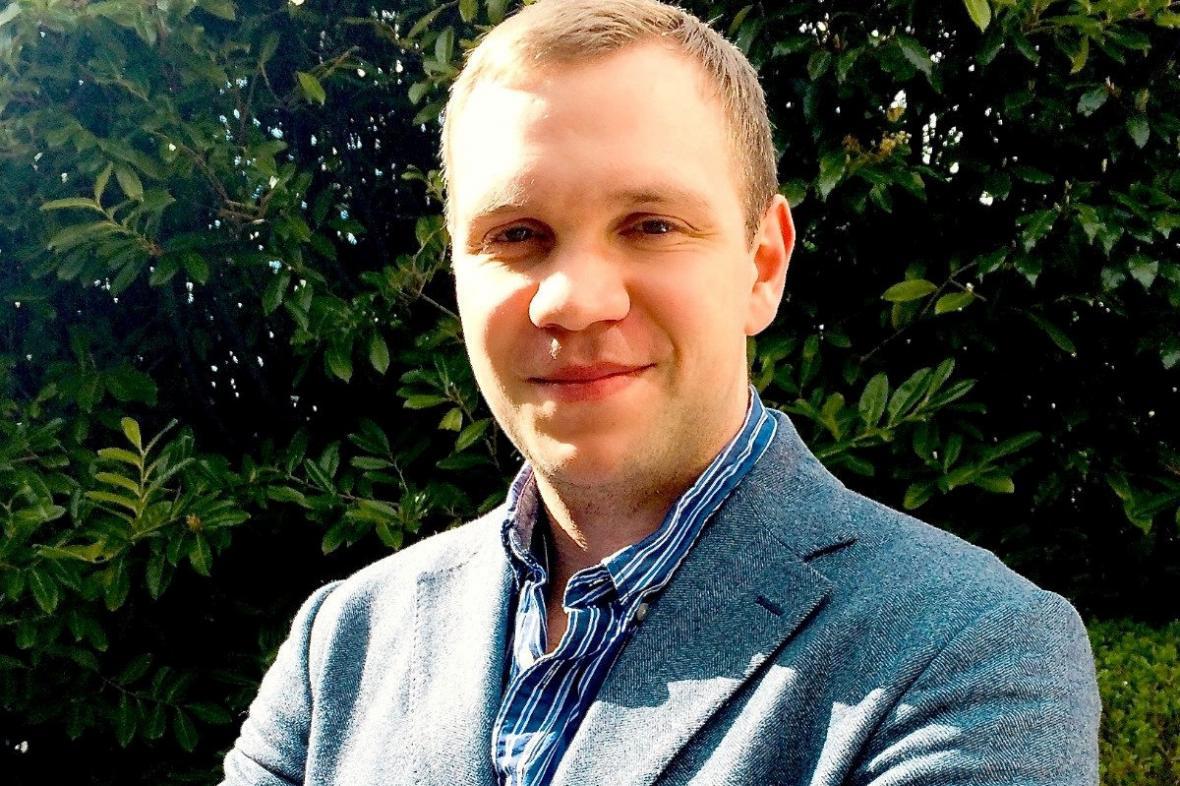 Britský akademik Matthew Hedges