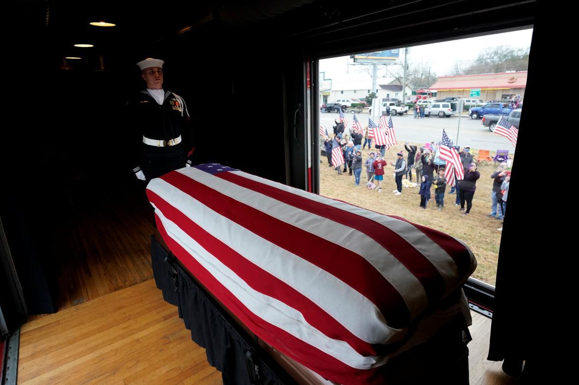 Pohřeb George Bushe staršího