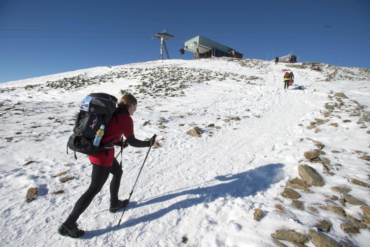 Výstup na Sněžku