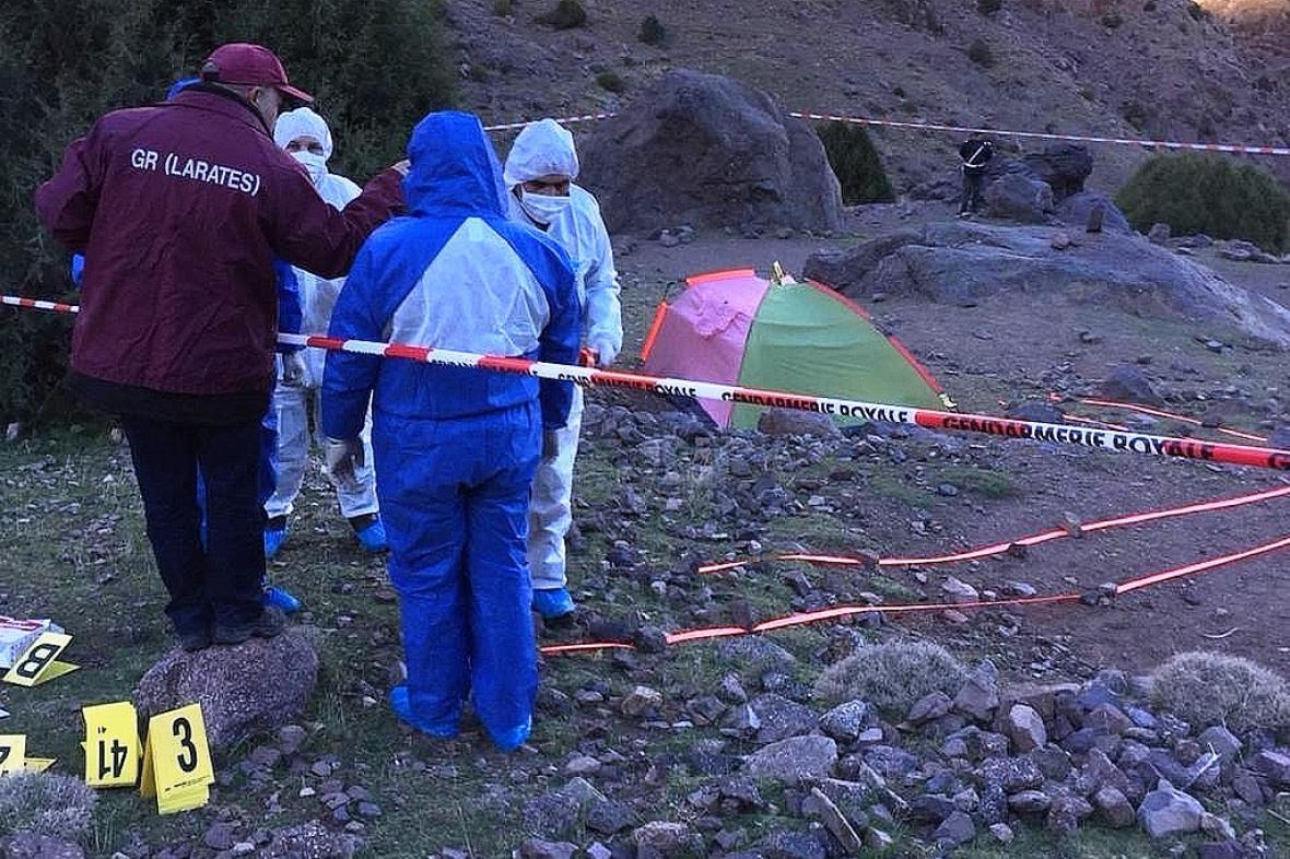 Místo vraždy dvou turistek