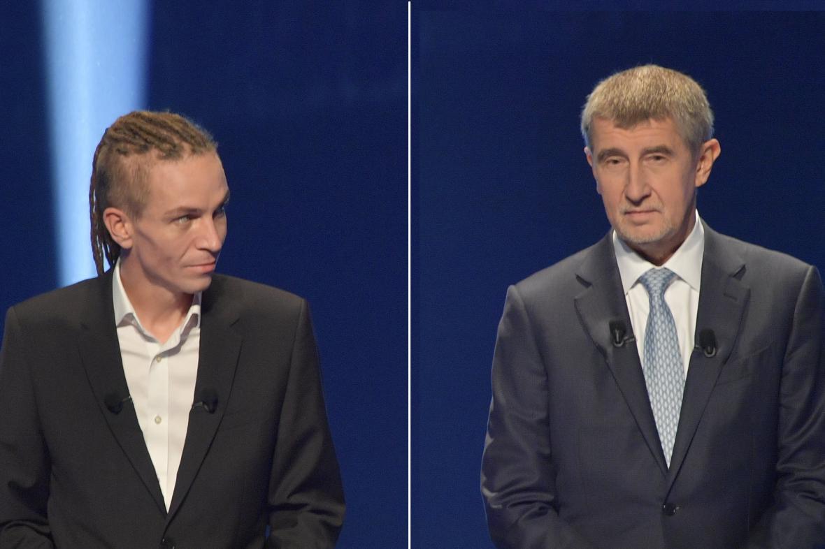 Ivan Bartoš a Andrej Babiš
