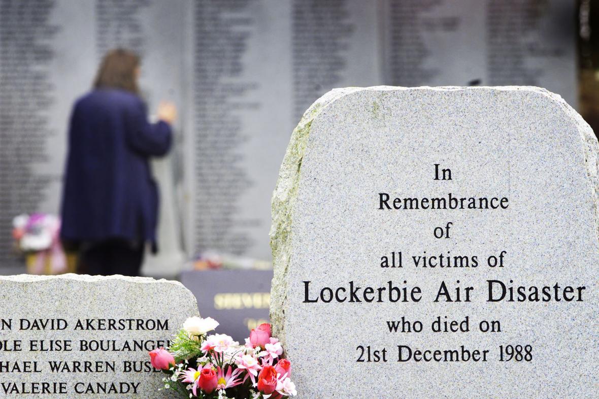 Památník obětem útoku nad Lockerbie