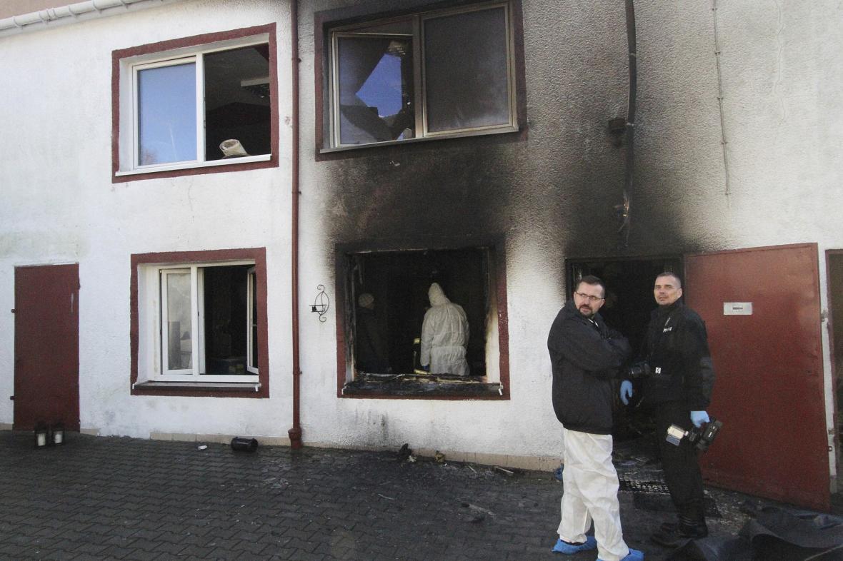 Místo neštěstí v polském Koszalinu