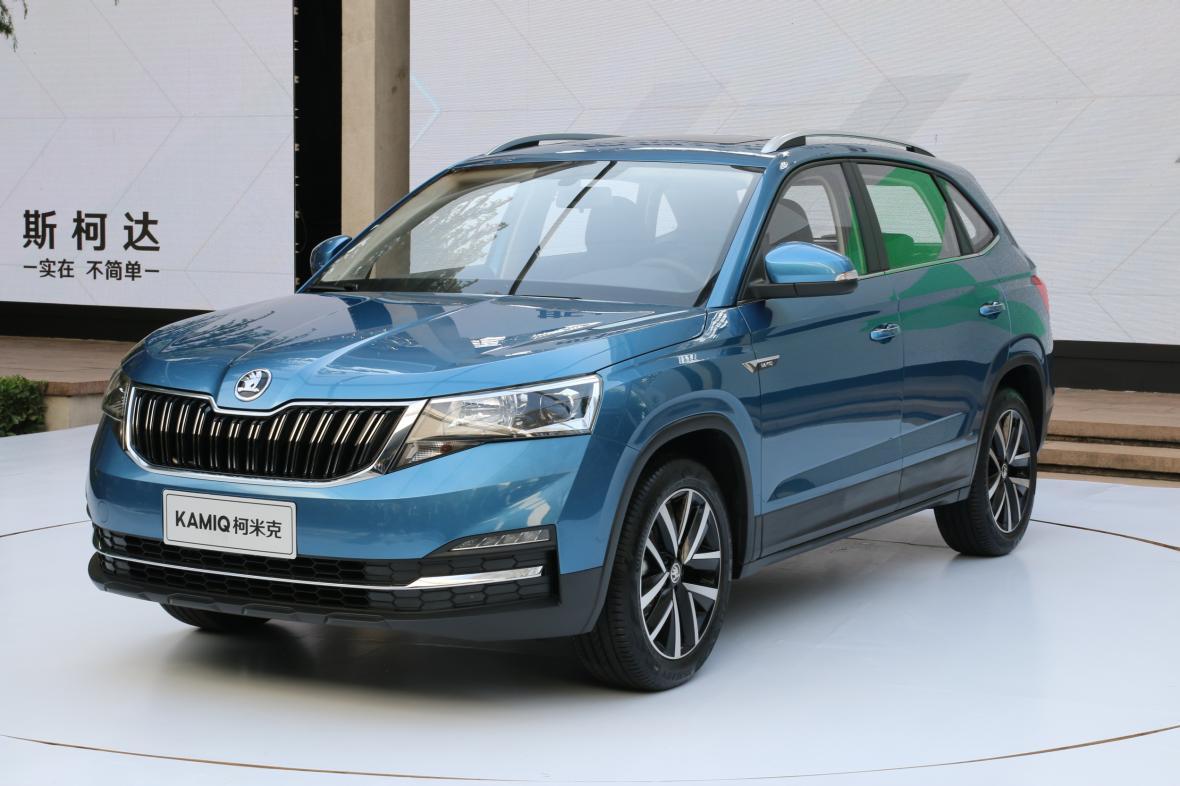 SUV Kamiq pro čínský trh