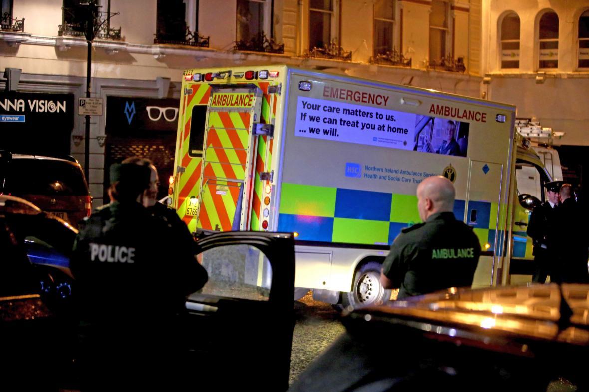 V severoirském Londonderry před soudem explodovalo auto
