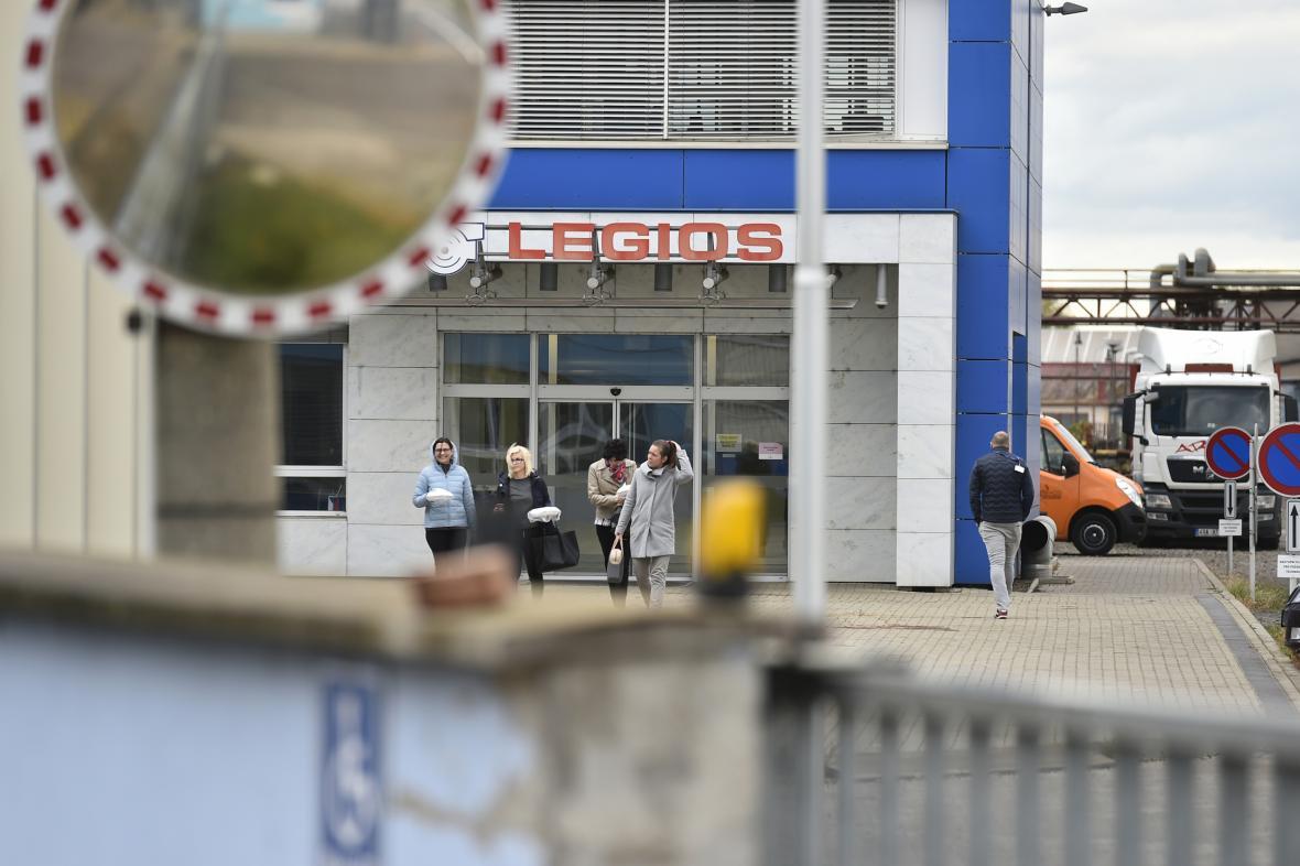 Areál Heavy Machinery Services, dříve Legios