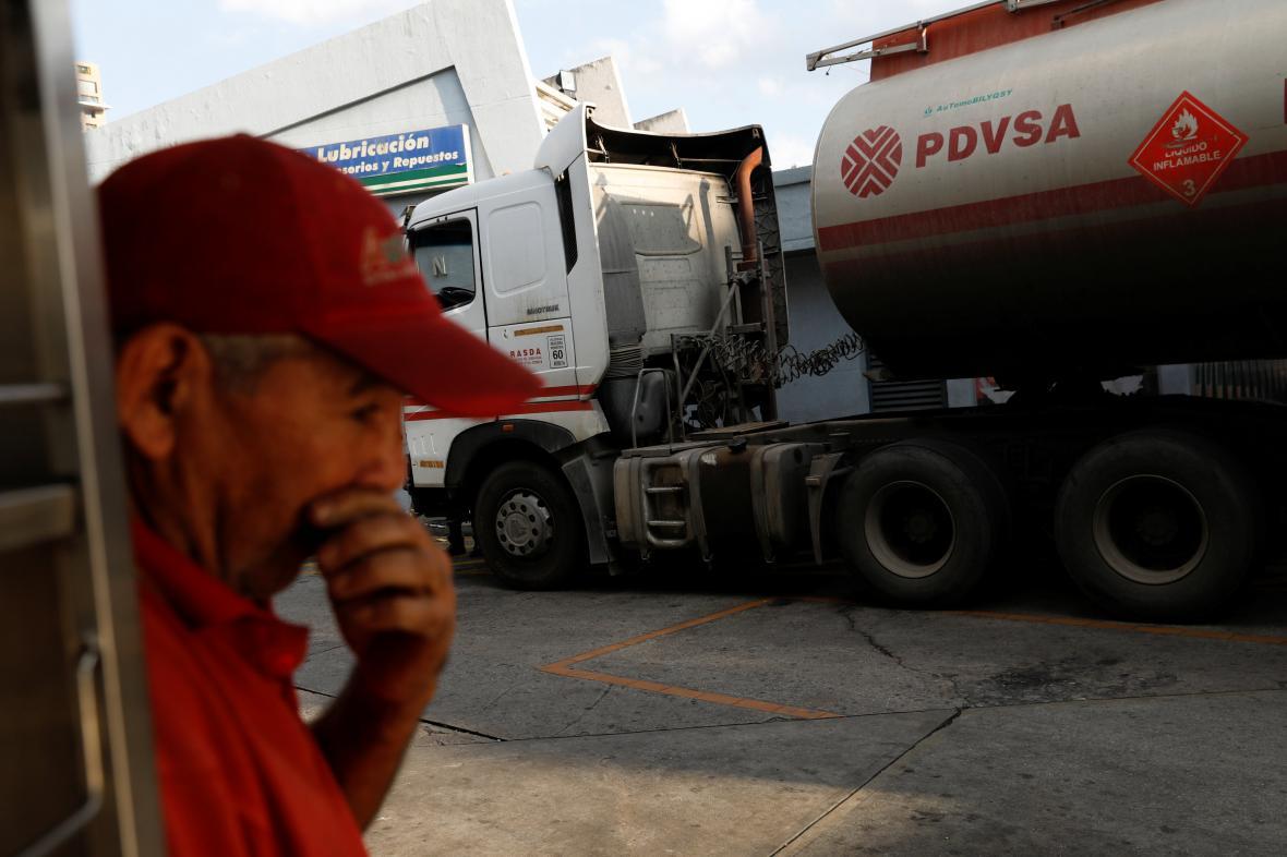 Přeprava venezuelské ropy