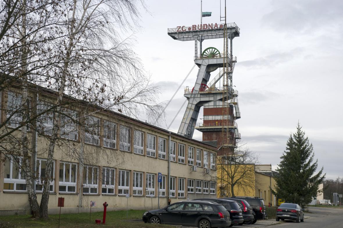 Důl Rudna v Polkowicích
