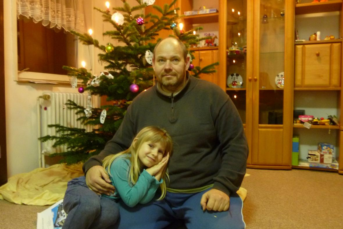 Vladimír Žiška s dcerou Marií