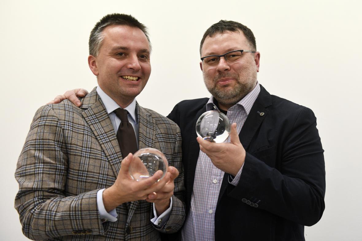 Ondřej Kundra a Jaroslav Kmenta